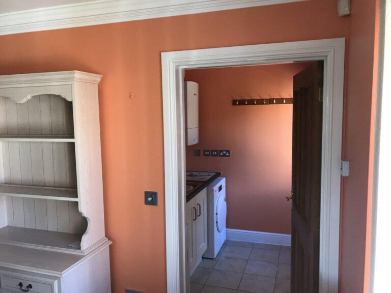 Ashley Heath Orange Kitchen Colours