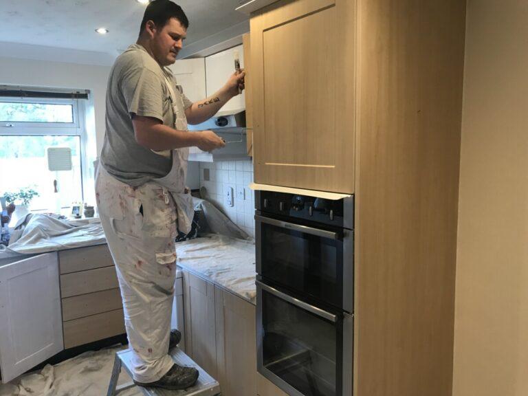 Kitchen unit restoration