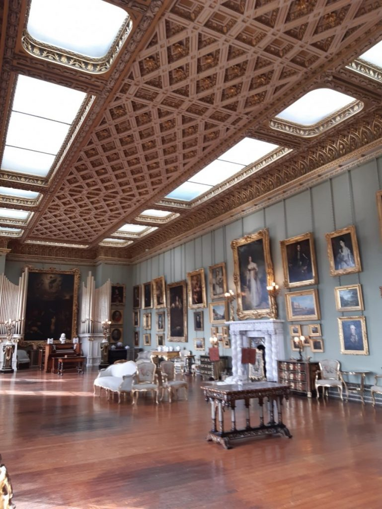 Somerley House finished main gallery